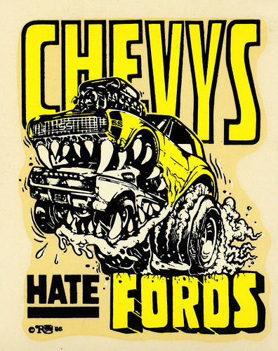 Funny Chevy Logos http://www.coolchaser.com/graphics/tag/chevy%20vs%20ford