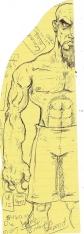 Meathook Legal Pad Doodle