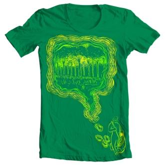 Nature's Path T-shirt illustration