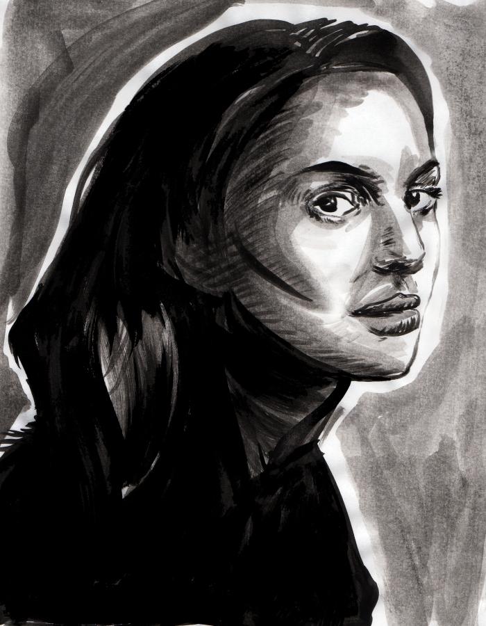 Portrait of Natalie Portman