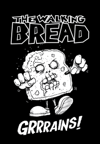 Walking Bread T-shirt