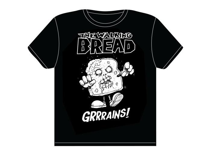 Walking Bread T-shirt