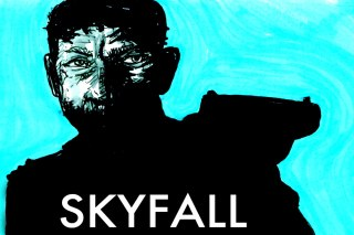 SKYFALL 007 illustration