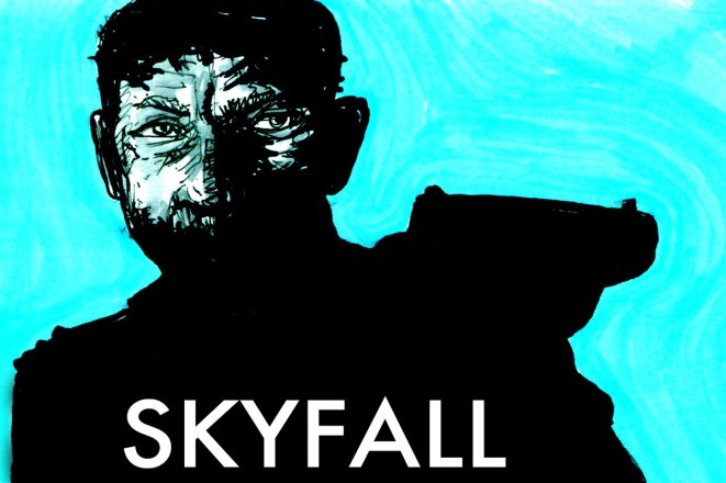 SKYFALL 007 illustration