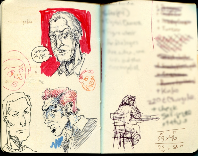 FWACATA Sketchbook 147