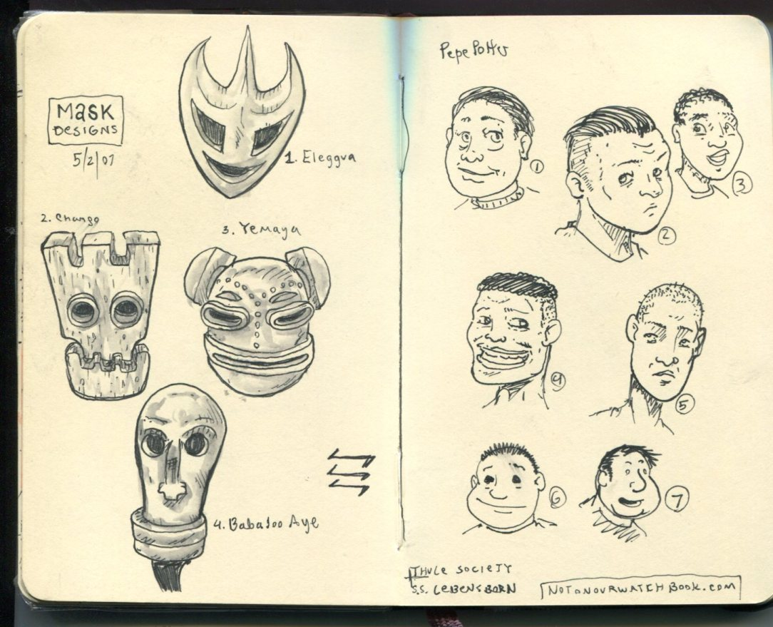 FWACATA Sketchbook 164