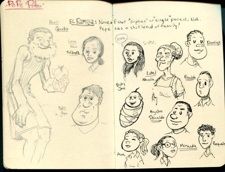 FWACATA Sketchbook 167