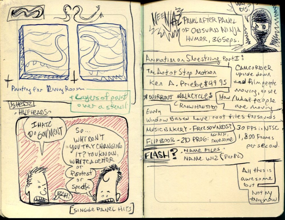 FWACATA Sketchbook 175