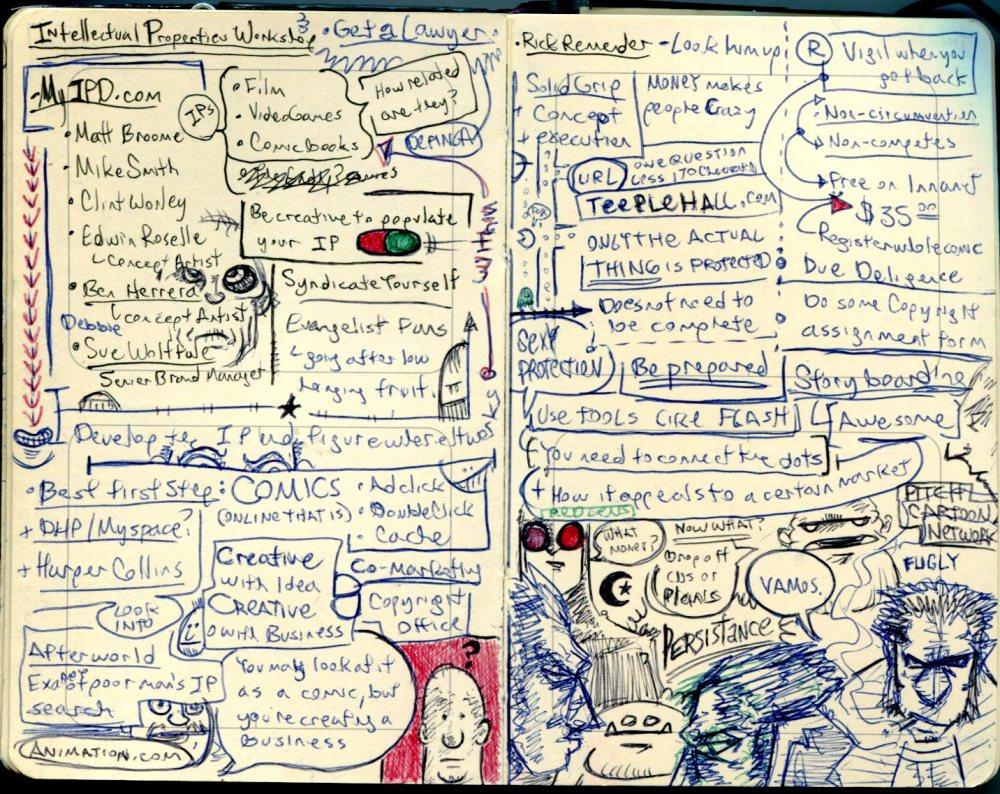 FWACATA Sketchbook 176