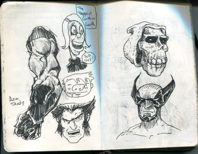 FWACATA Sketchbook 215