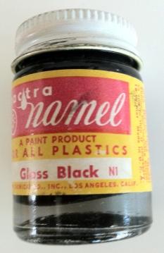 Gloss Black, Enamel