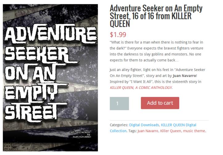 Adventure Seeker on An Empty Street, 16 of 16 from KILLER QUEEN - Red Stylo.clipular