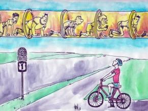 Transit Miami Cartoon
