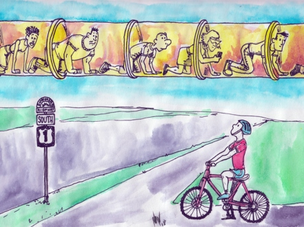 Transit Miami Cartoon