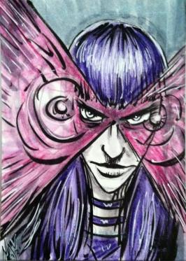 Psylocke Sketch Cards