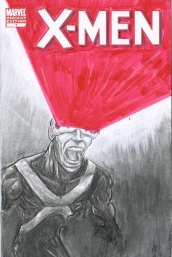 Cyclops X-men#1 SketchCover