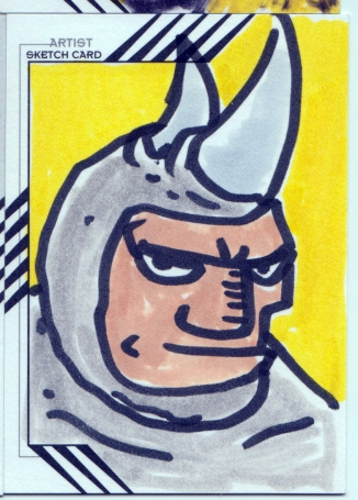 Here are the sketch cards I did for UPPDERDECK's Retro Marvel Card set.