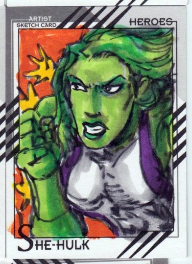Marvel Retro Cards 31