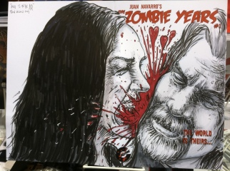 ZOmbie Portrait for couple at NYCC!