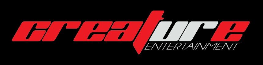 CREATURE ENTERTAINMENT logo design for Comic Book Publisher