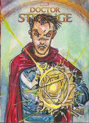 Juan Navarro Upperdeck Dr Strange Cards 003 - Doctor Strange