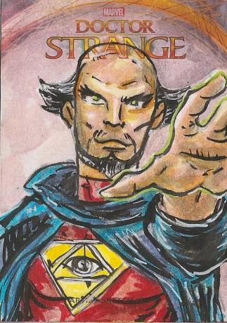 Juan Navarro Upperdeck Dr Strange Cards 004 - Doctor Druid