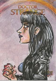 Juan Navarro Upperdeck Dr Strange Cards 007 - Jessica Jones