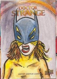 Juan Navarro Upperdeck Dr Strange Cards 009 - HellCat
