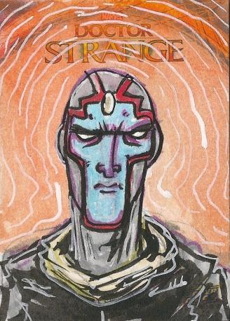 Juan Navarro Upperdeck Dr Strange Cards 011 - The Vision