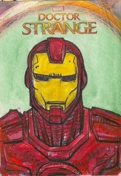 Juan Navarro Upperdeck Dr Strange Cards 013 - Iron Man