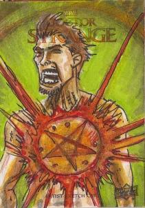 Juan Navarro Upperdeck Dr Strange Cards 014 - Hellstorm