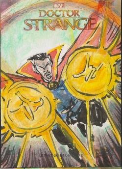 Juan Navarro Upperdeck Dr Strange Cards 018 - Doctor Strange