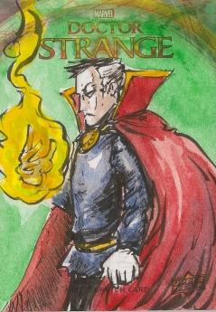 Juan Navarro Upperdeck Dr Strange Cards 019 - Doctor Strange