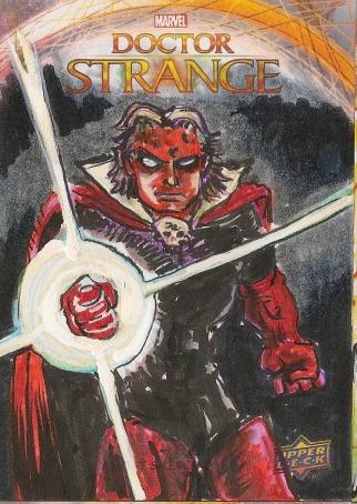Juan Navarro Upperdeck Dr Strange Cards 022 - Adam Warlock