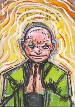 Juan Navarro Upperdeck Dr Strange Cards 023 - Wong