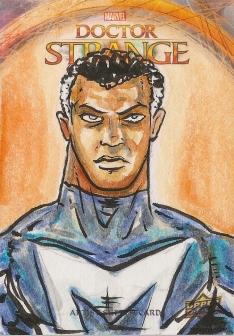 Juan Navarro Upperdeck Dr Strange Cards 025 - Blue Marvel
