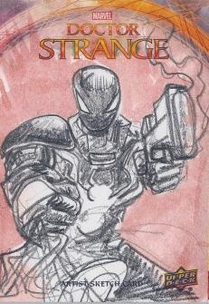 Juan Navarro Upperdeck Dr Strange Cards 026 - Agent Venom