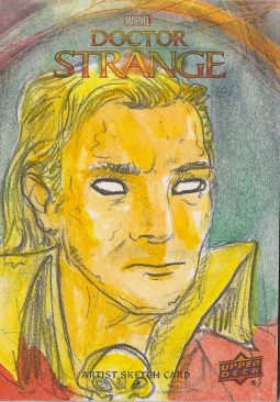 Juan Navarro Upperdeck Dr Strange Cards 027 - Adam Warlock