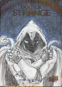 Juan Navarro Upperdeck Dr Strange Cards 029 - Moon Knight