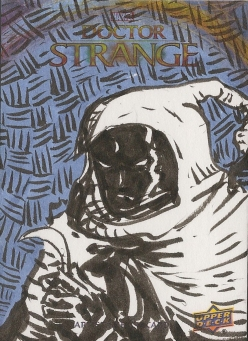 Juan Navarro Upperdeck Dr Strange Cards 031 - Moon Knight
