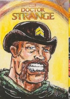 Juan Navarro Upperdeck Dr Strange Cards 036 - Dum DUm DUgan