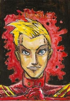 Juan Navarro Upperdeck Dr Strange Cards 039 - Captain Marvel