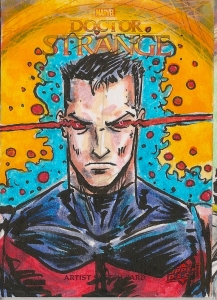 Juan Navarro Upperdeck Dr Strange Cards 041 - Marvel man