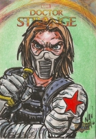 Juan Navarro Upperdeck Dr Strange Cards 042 - Winter Soldier