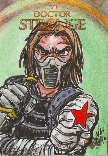 Juan Navarro Upperdeck Dr Strange Cards 042 - Winter Soldier