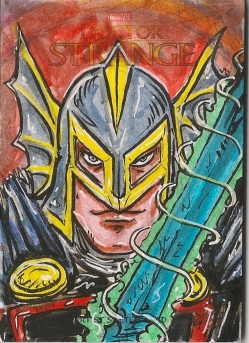 Juan Navarro Upperdeck Dr Strange Cards 043 - Black Knight