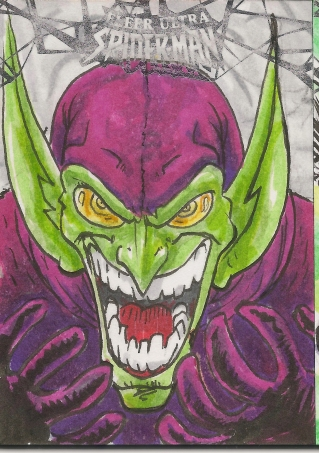 Spiderman Sketchcards Scans 007
