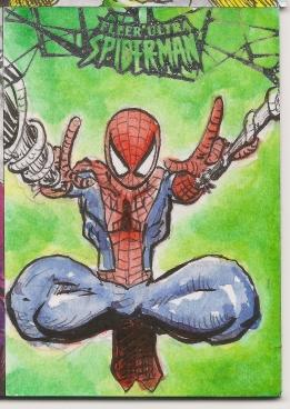 Spiderman Sketchcards Scans 008