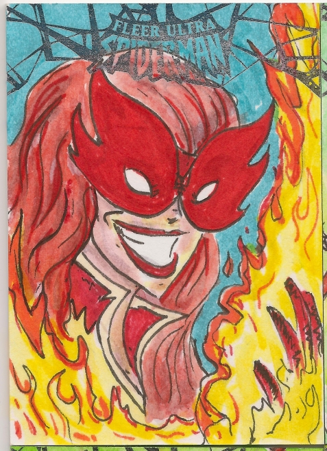 Spiderman Sketchcards Scans 010