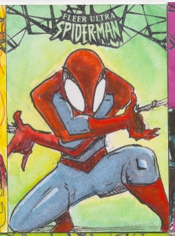Spiderman Sketchcards Scans 011